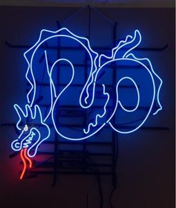 CUSTOM Dragon neon sign Handcrafted Light Bar Beer Pub Club signs shop Business Signboard diet buffet food diner flashing