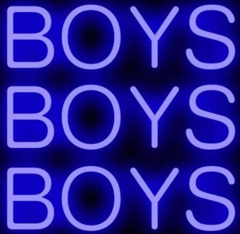 Custom Boys Glass Neon Light Sign Beer Bar