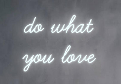 Custom do what you love Glass Neon Light Sign Beer Bar