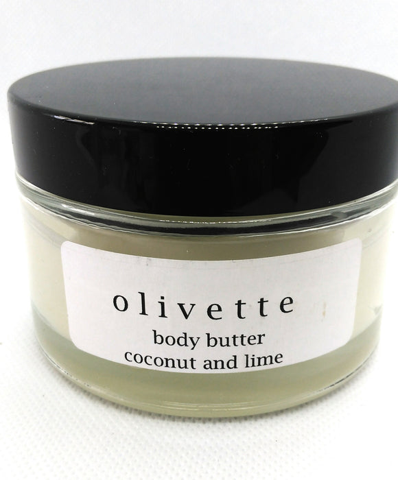 Coconut & Lime Body Butter