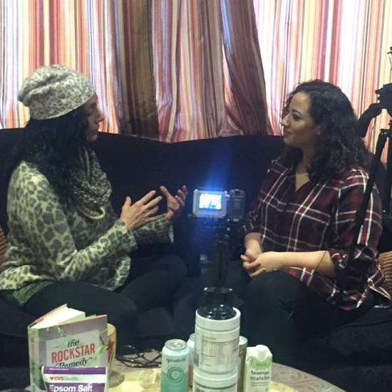 Ariane met with Dr. Gabrielle Francis