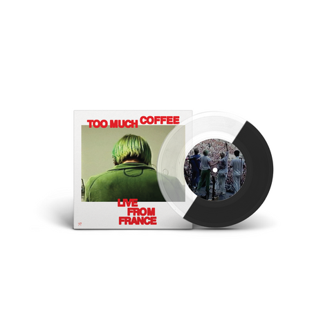 SWMRS Too Much Coffee - Live In France / PEOPLE feat. FIDLAR (Black / Clear Limited Edition)
