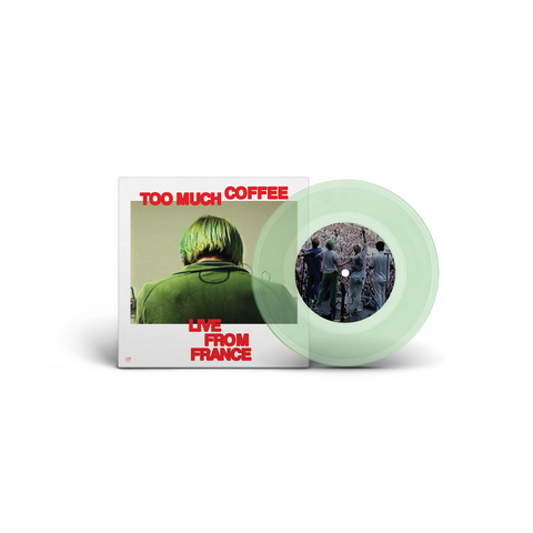 SWMRS Too Much Coffee - Live In France / PEOPLE feat. FIDLAR (Coke Bottle Green Limited Edition)