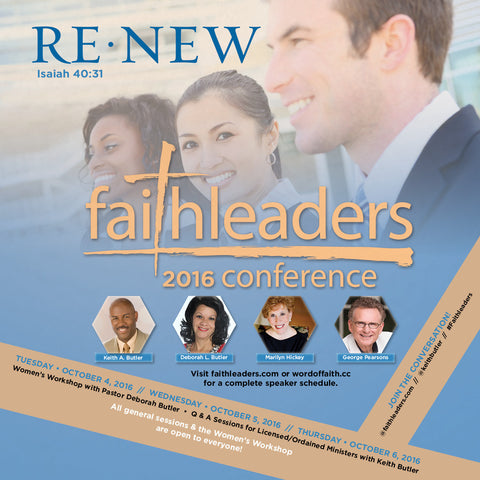2016 Faith Leaders Conference Series