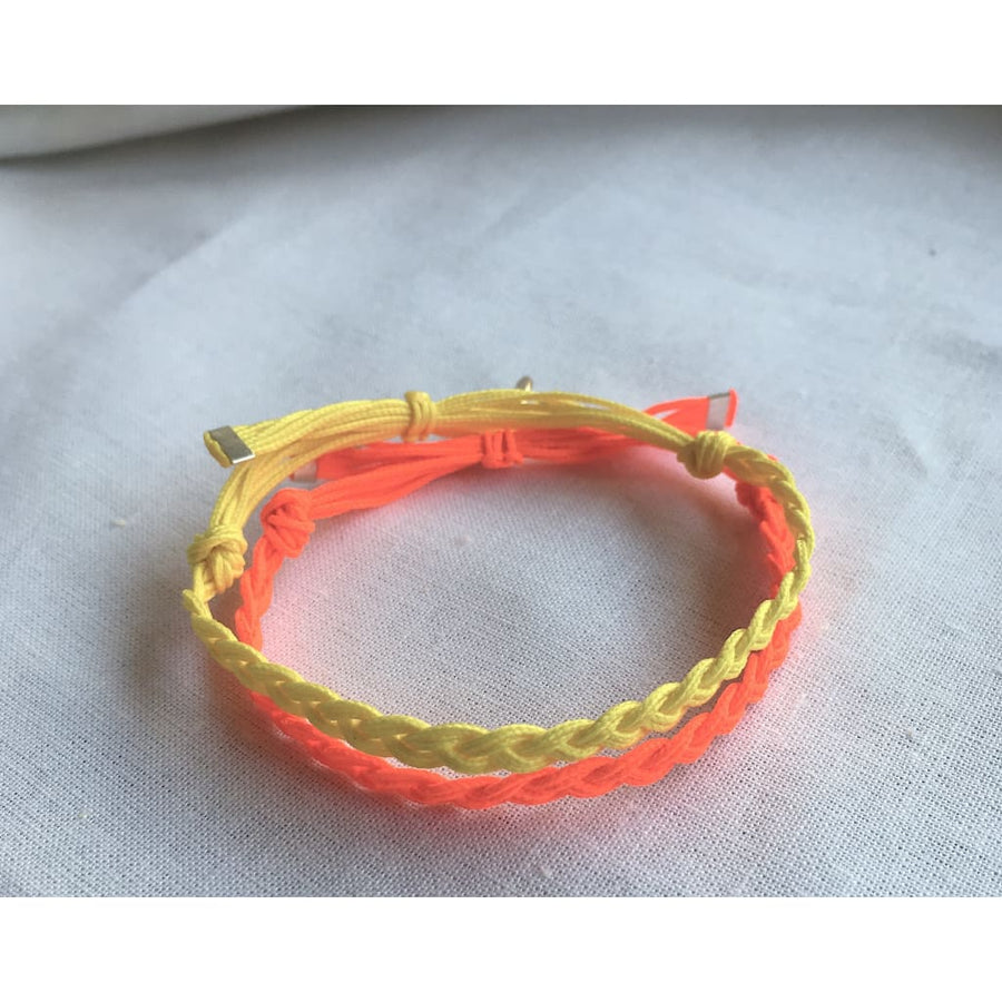 Tresse Enfant - orange fluo
