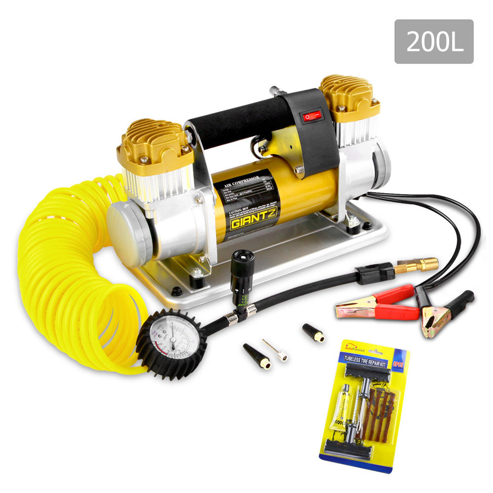 Giantz 12V Portable Air Compressor