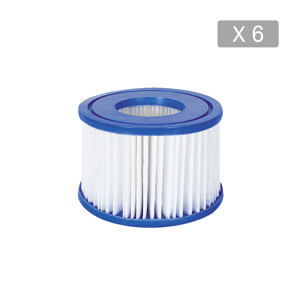 Bestway 6X Filter Cartridge For Lay-Z-Spa Lay Z Spa Pool Cartridge Filter