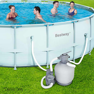 Bestway 2000 GPH Sand Filter Swimming Pool Cleaning Pump