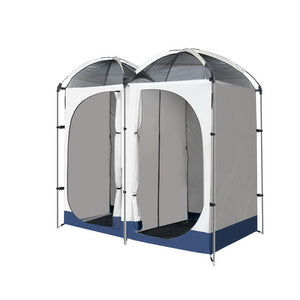 WEISSHORN 20L Outdoor Portable Toilet Camping Shower Tent Ensuite Change Room