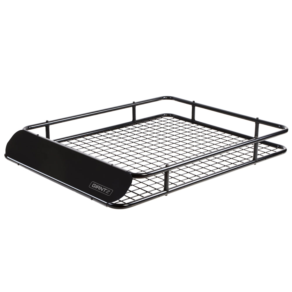 Giantz Universal Roof Rack Basket Car Carrier Steel 123cm