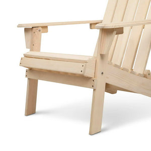 Gardeon Outdoor Wooden Beach Chair