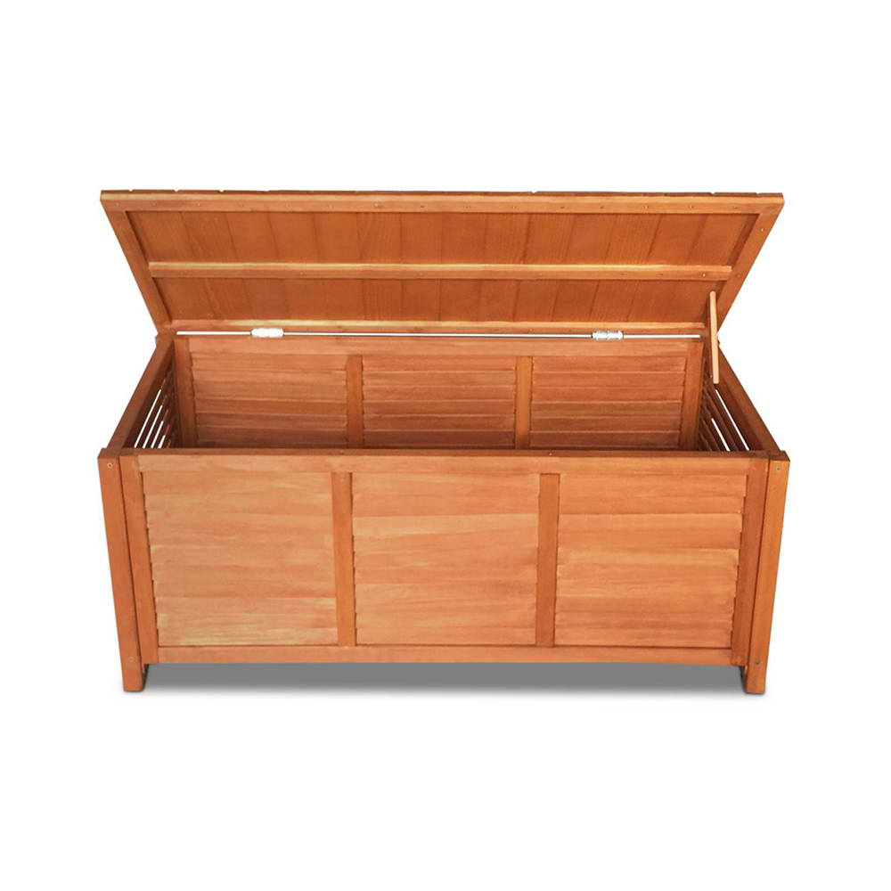 Gardeon Outoor Fir Wooden Storage Bench