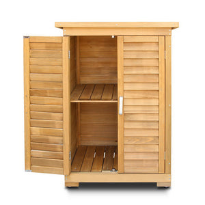 Gardeon Portable Wooden Garden Storage Cabinet