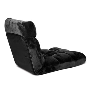 Artiss Adjustable Lounge Chair - Black