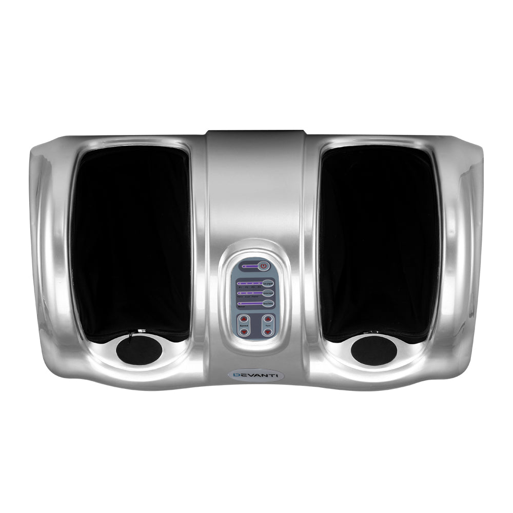 Devanti Foot Massager - Silver