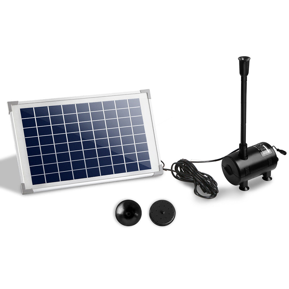 Gardeon 650L/H Submersible Fountain Pump with Solar Panel