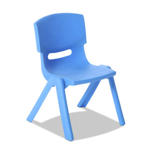 Keezi 3 Piece Kids Table and Chair Set - Blue