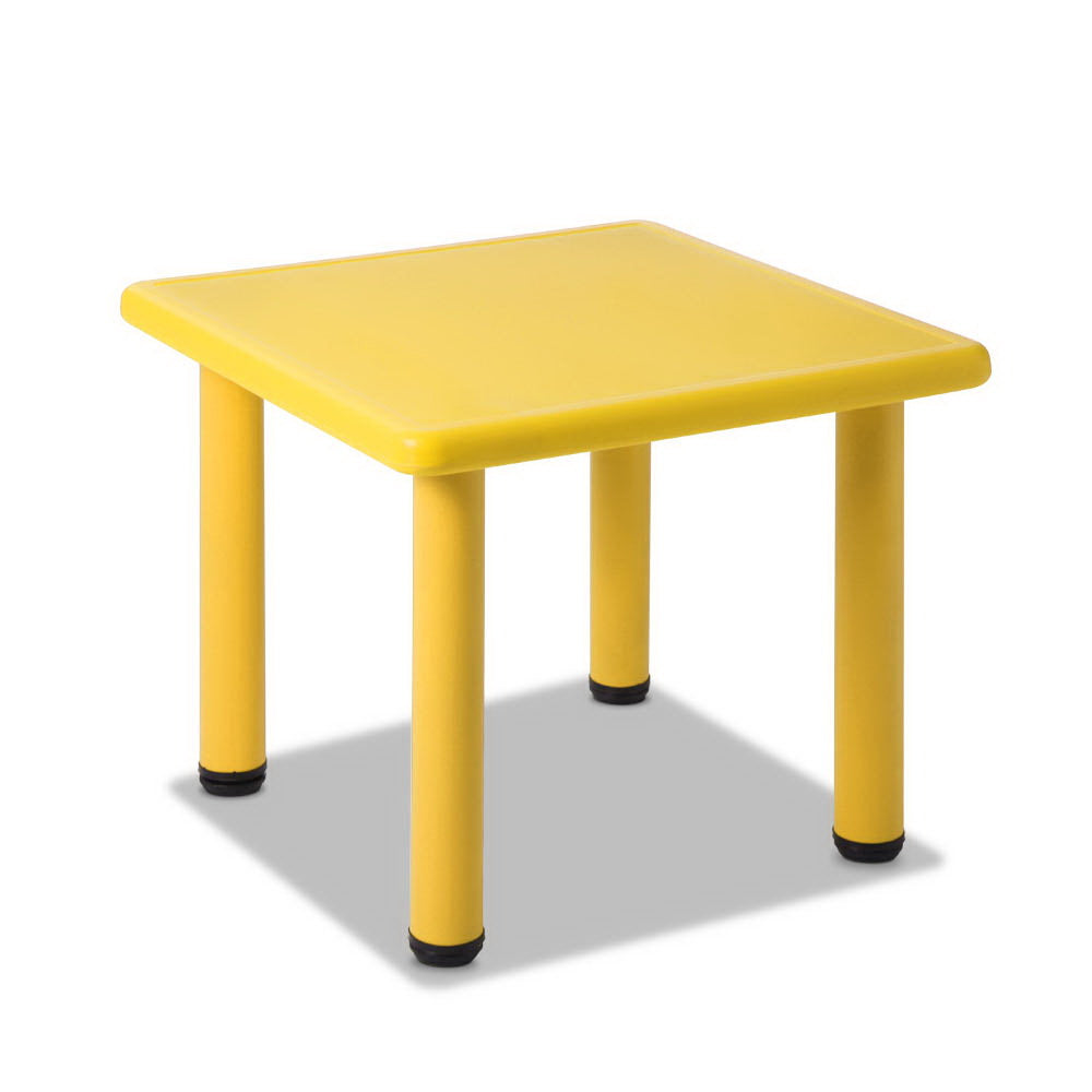 Keezi 3 Piece Kids Table and Chair Set - Yellow
