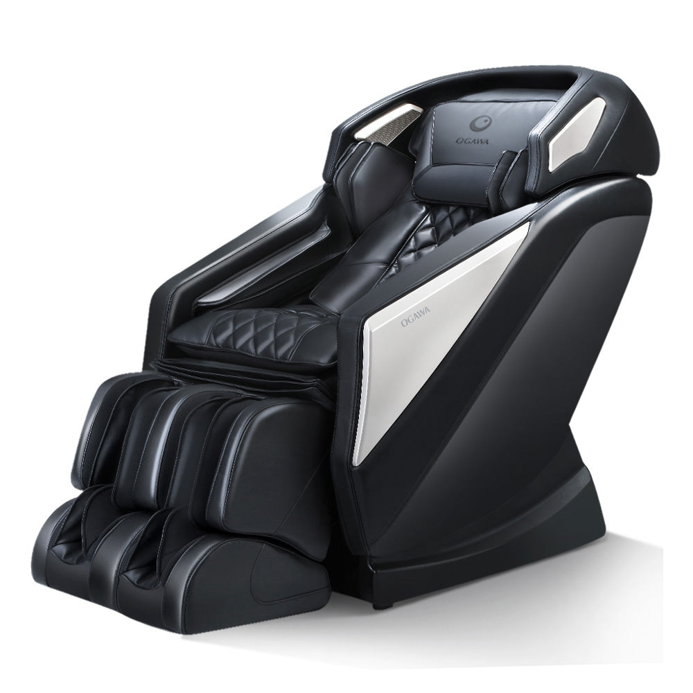 Ogawa Electric Massage Chair Smart  revive Full Body Shiatsu Roller Large Black