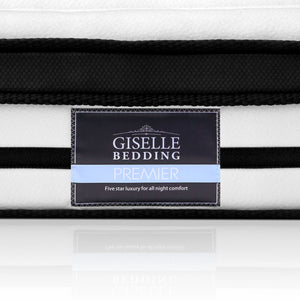 Giselle Bedding King Size 27cm Thick Spring Foam Mattress
