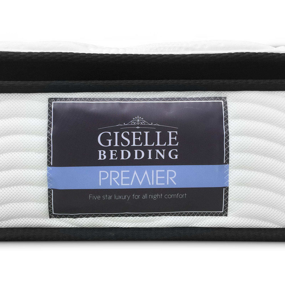 Giselle Bedding King Size 28cm Thick Spring Foam Mattress