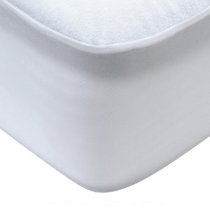 Giselle Bedding Double Size Terry Cotton Mattress Protector