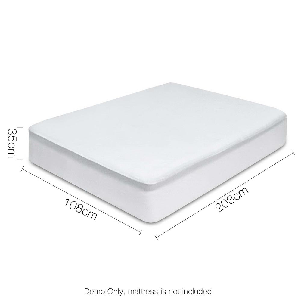 Giselle Bedding King Single Size Waterproof Mattress Protector