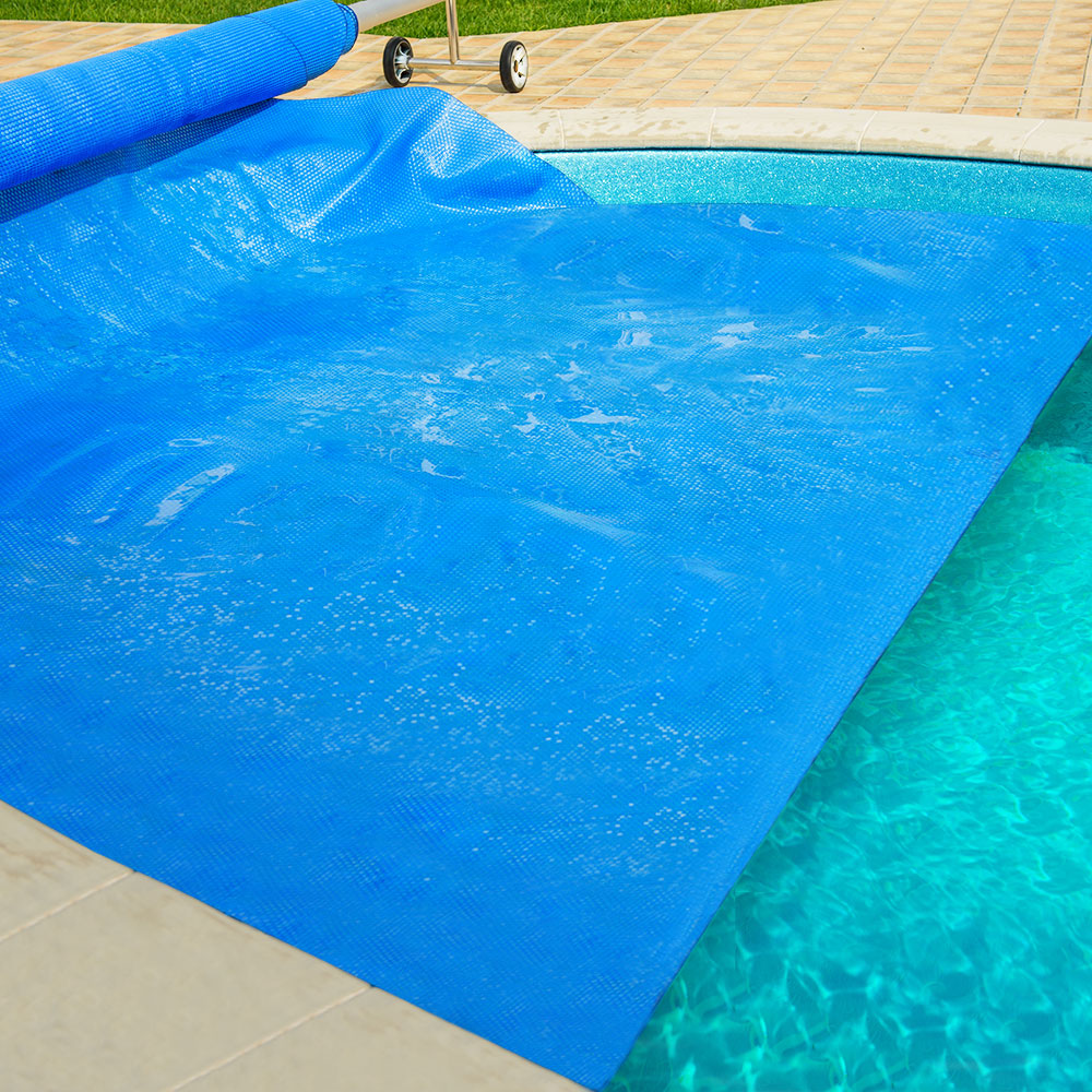 Aquabuddy 8.5 X 4.2m Solar Swimming Pool Cover - Blue