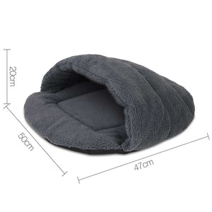 i.Pet Medium Cave Pet Bed - Grey
