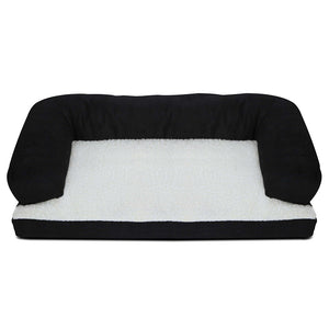 i.Pet Extra Large Fleece Pet Bed - Black