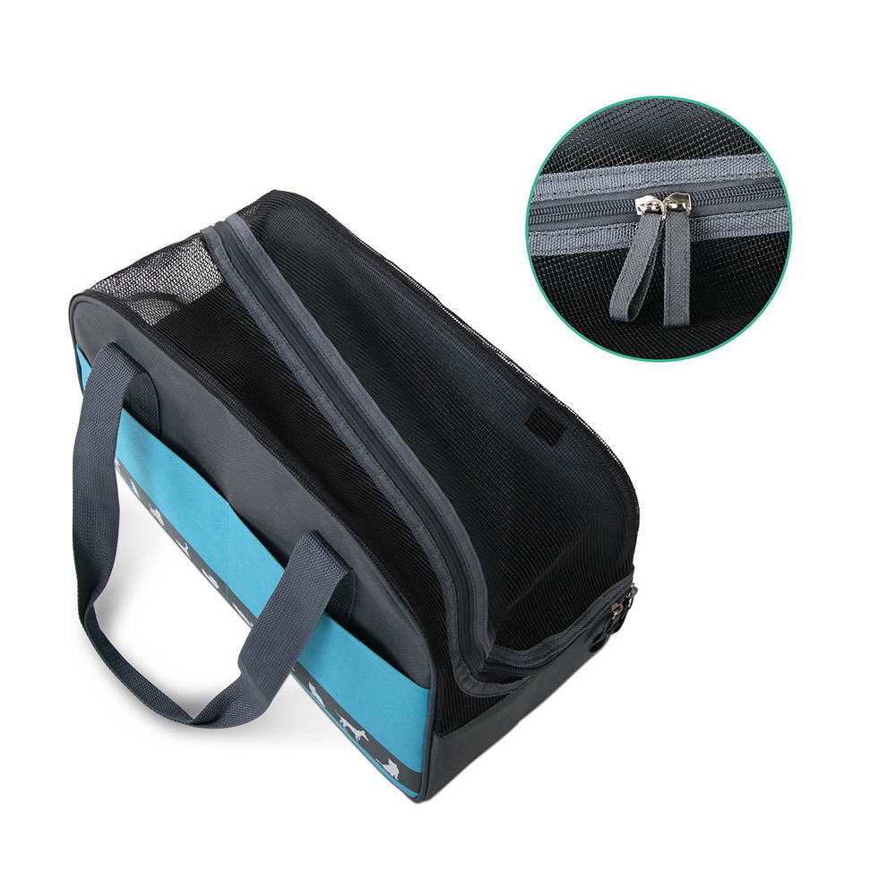 i.Pet Folding Portable Pet Carrier - Blue