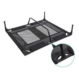 i.Pet Large Mesh Pet Trampoline - Black