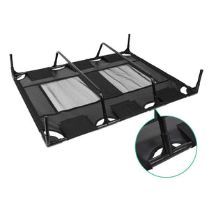 i.Pet Extra Large Mesh Pet Trampoline - Black
