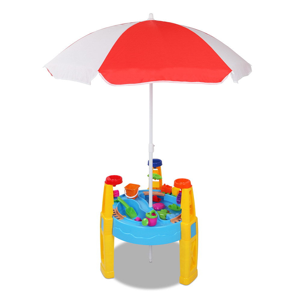 Keezi 26 Piece Kids Umbrella & Table Set