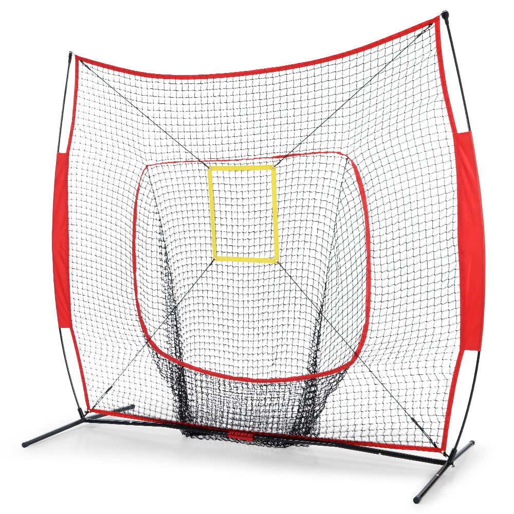 Everfit Portable Baseball Training Net Stand Softball Practice Sports Tennis
