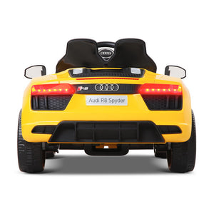 Rigo Kids Ride On Audi R8 - Yellow