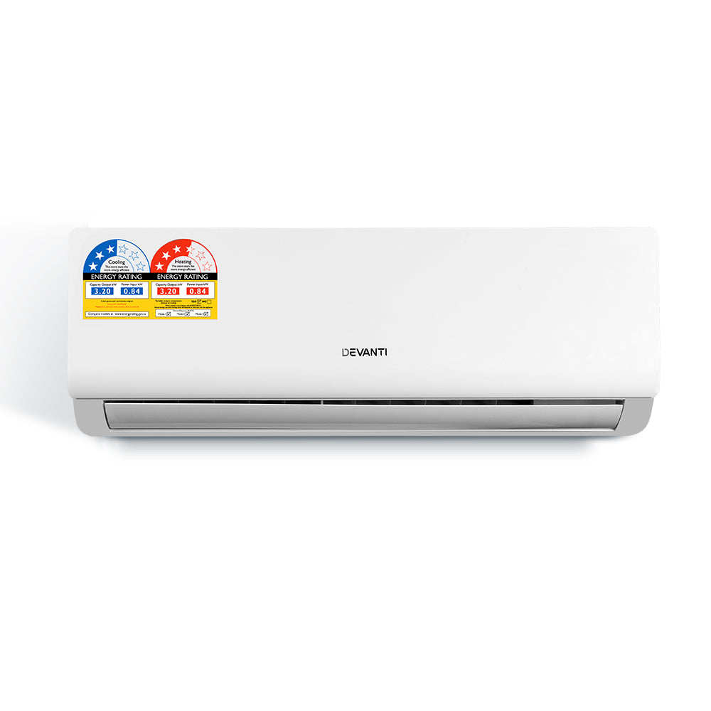 Devanti 4-in-1 3.2kW Split System Inverter Air Conditioner