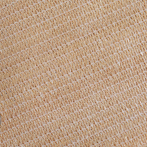 Instahut 5 x 5 x 7.1 Triangle Shade Sail Cloth - Sand Beige