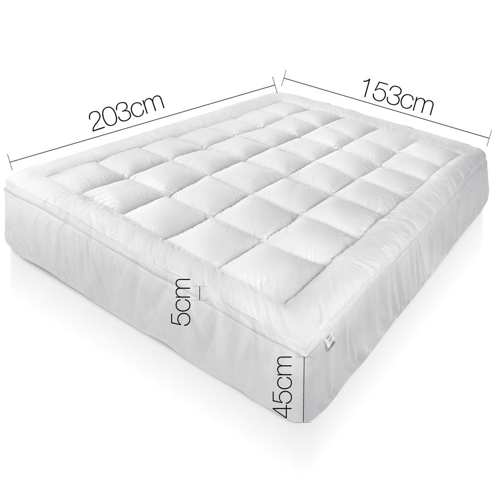 Giselle Bedding Queen Size Bamboo Matress Topper
