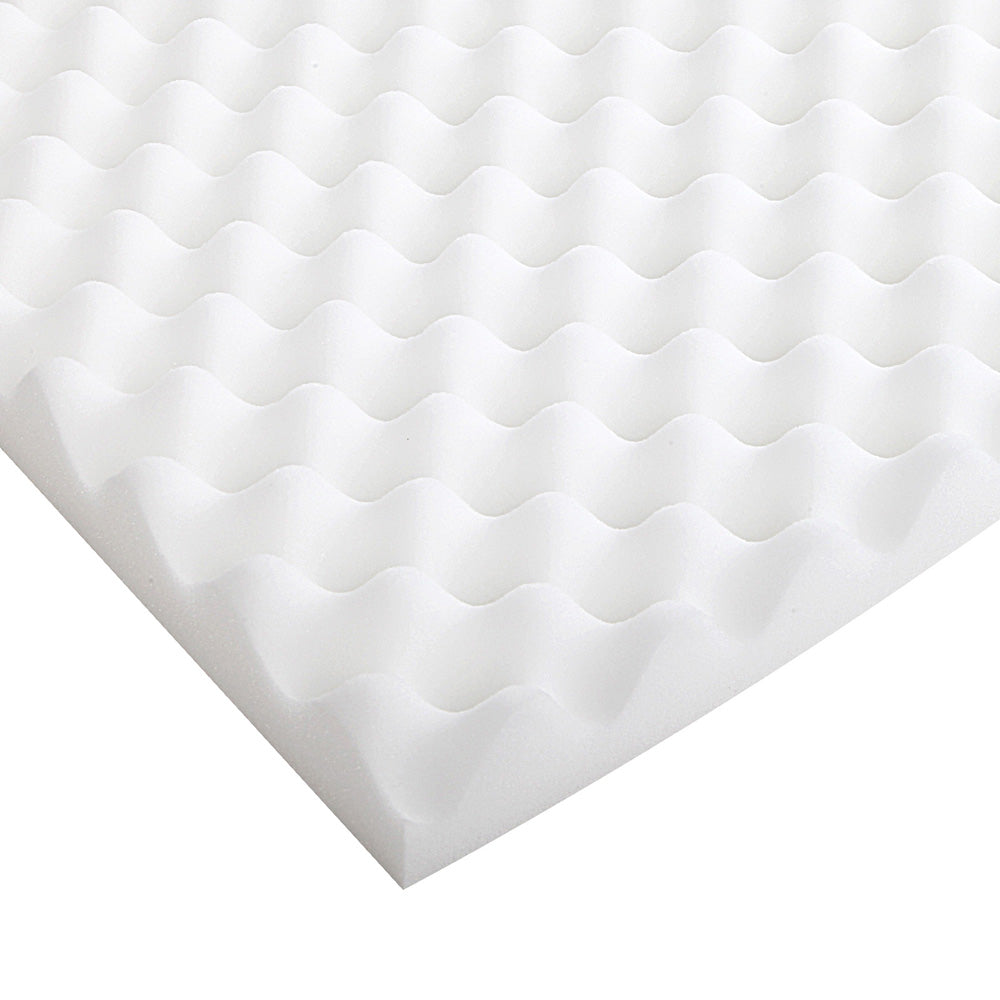 Giselle Bedding Single Size Egg Crate Foam Topper