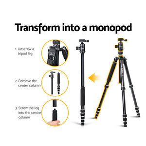 Weifeng 152cm Professional 2 IN 1 Monopod/Tripod Digital Camera