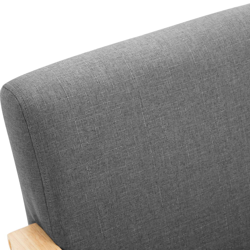 Artiss Fabric Armchair - Grey