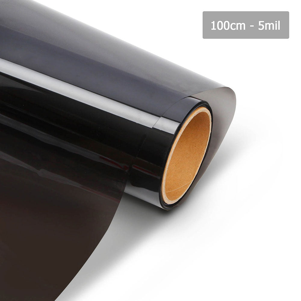 Giantz Window Tint Film Black Commercial Car Auto House Glass 100cm X 30m VLT 5%