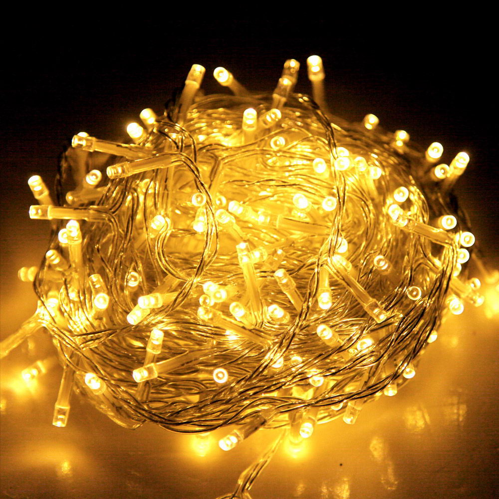 Jingle Jollys 50M 250 LED Christmas String Lights Warm White