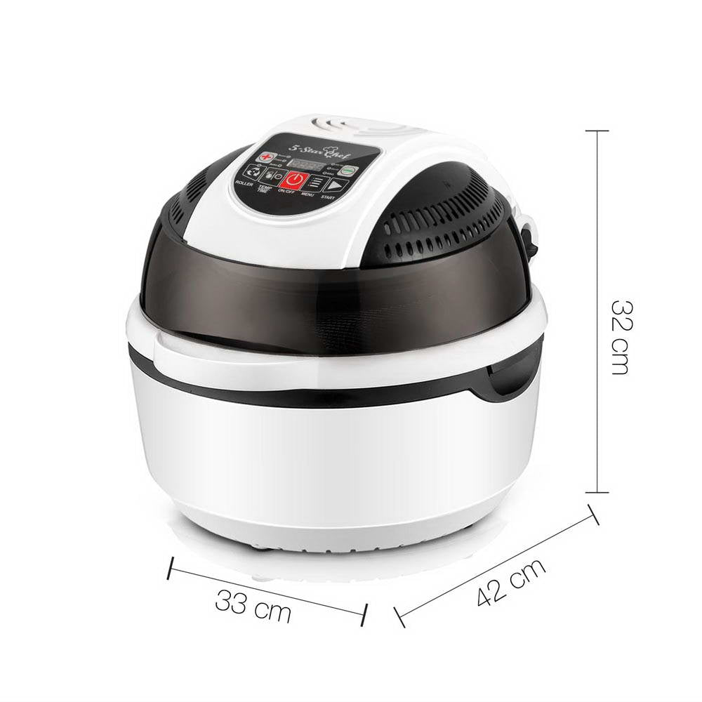 5 Star Chef 10L 6 Function Convection Oven Cooker Air Fryer- White