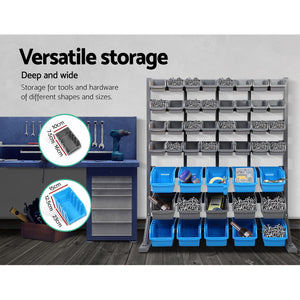 Giantz 47 Bin Storage Shelving Rack