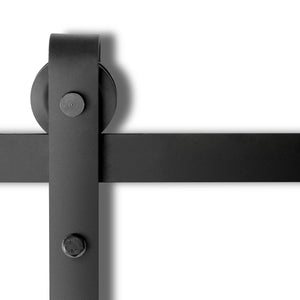 Sliding Barn Door Hardware - Black