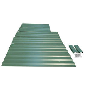 Green Fingers 150 x 90cm Galvanised Steel Garden Bed - Green