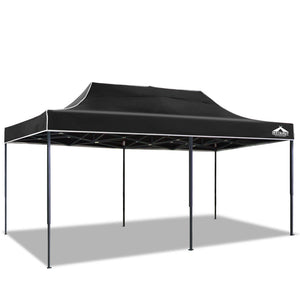 Instahut 3x6m Outdoor Gazebo - Black