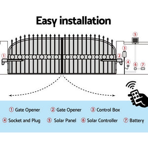 LockMaster Automatic Electrical Swing Gate Opener 1000KG